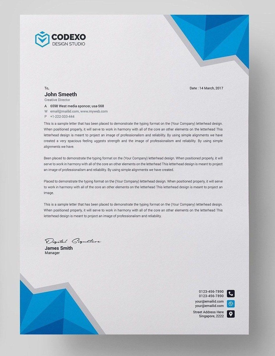 Free Letterhead Template Word Simple Template Design In 2021 Letterhead Template Word Free Letterhead Templates Company Letterhead Template