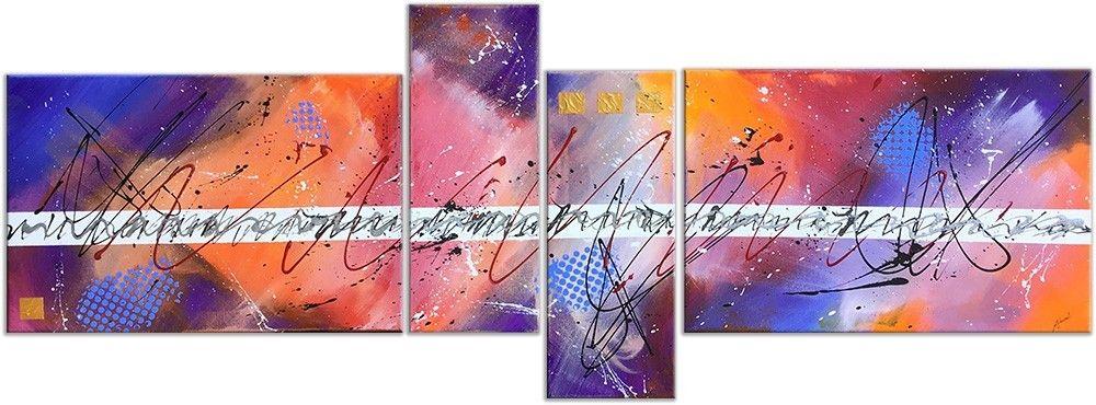 Tableau Abstrait Quadriptyque Alinea De Angelique Louail Tableau Abstrait Abstrait Peintures Art Abstrait