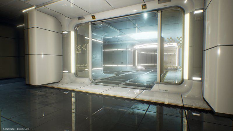 Image Result For Sci Fi Laboratory Concept Stylized