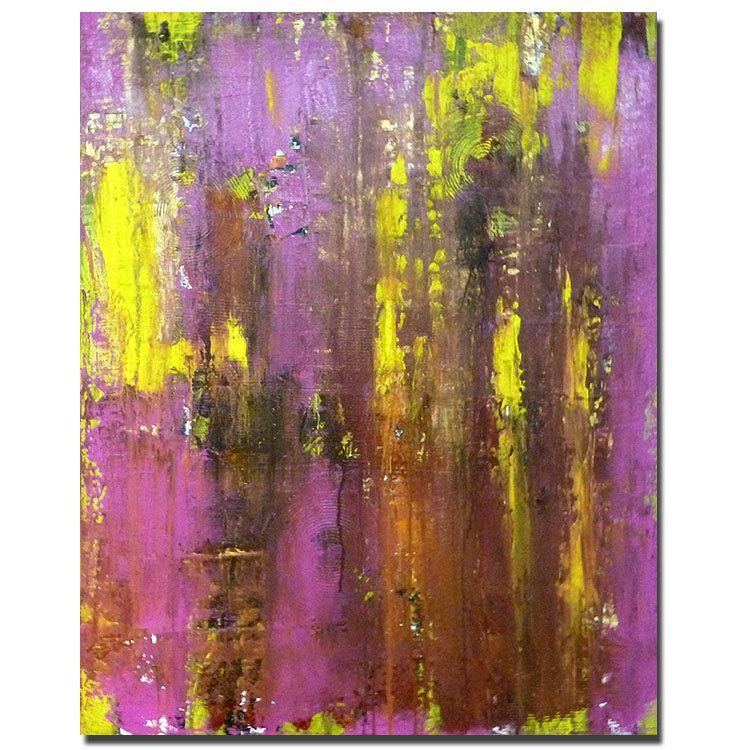 SALE.....Sweet Moment 2............. original acrylic painting abstract art. $200.00, via Etsy.