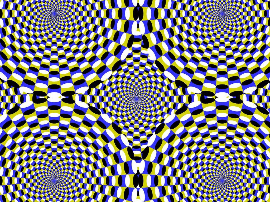 Photos illusion car moving optical illusion spectacular optical - Funny Moving Optical Illusions Part