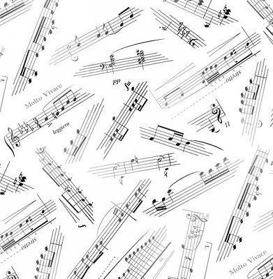 Elizabeth's Studio Jazz Music Sheet notes White 100%