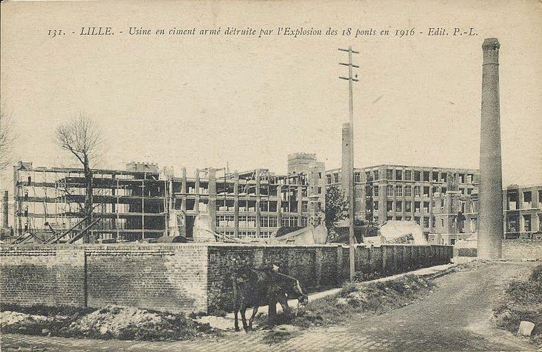 Eugène Turpin (1848 1927) L'explosion des 18 ponts à