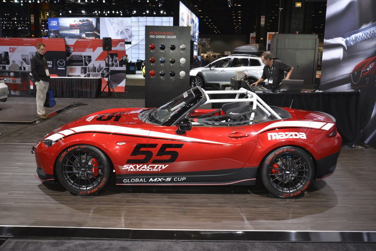 New 2016 mazda mx 5 looks so much better with a sports kit