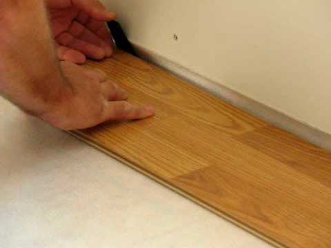 Flooring 101 How To Install Laminate Flooring Tap End Joint