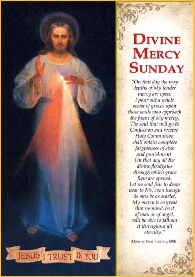 Divine Mercy Sunday Divine Mercy Sunday Divine Mercy Divine Mercy Chaplet