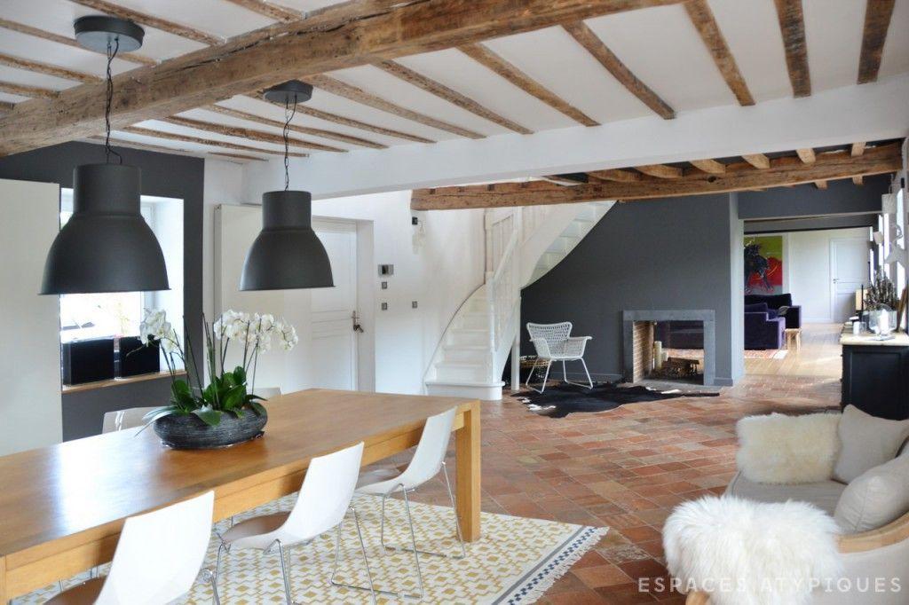 lille maison de campagne revisit e espaces atypiques lille pinterest maisons de campagne. Black Bedroom Furniture Sets. Home Design Ideas