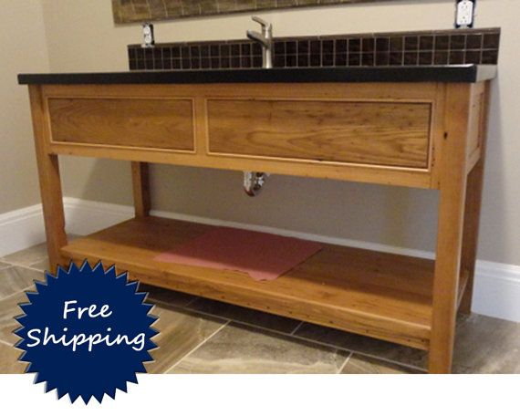Bathroom Vanity Made to Order from by WhatmanBarnFurniture on Etsy
