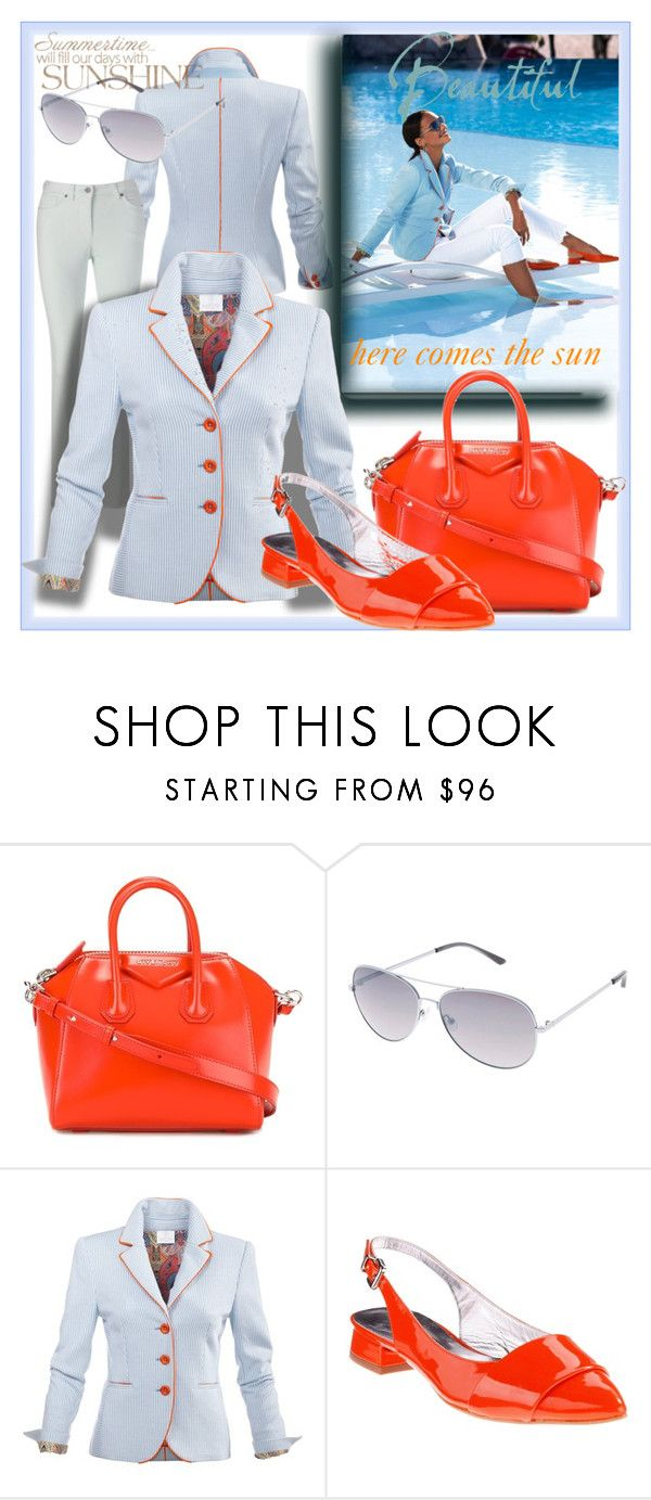 """Joyful Elegance"" by evachasioti ❤ liked on Polyvore featuring Givenchy"