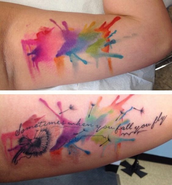 Image Result For Watercolour Tattoo Watercolor Splash
