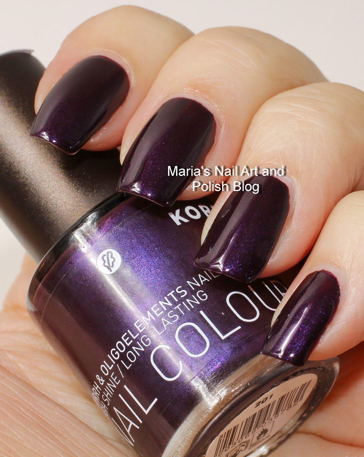 Korres Ultra Violet 29   PAINTED♥   Pinterest   Ultra violet, Nail ...