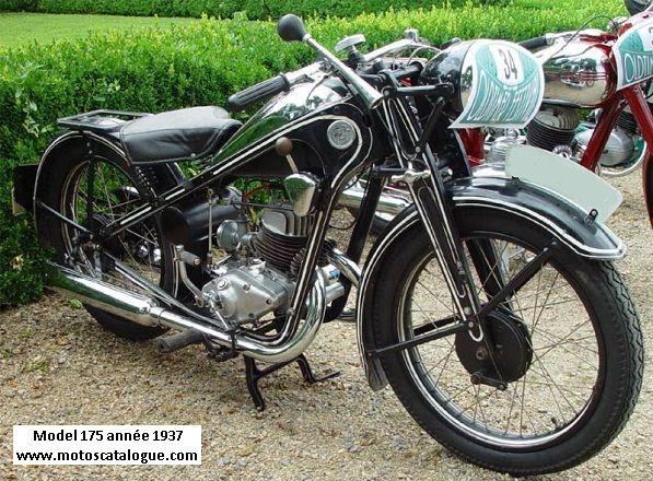 1937 Cz-Motorcycle 175cc