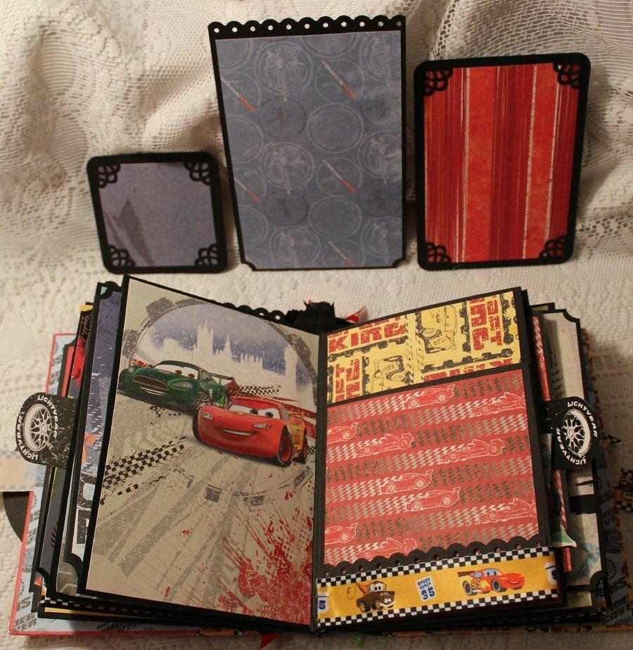 Momz Cindy A Disney Cars Themed Premade Scrapbook Album | eBay