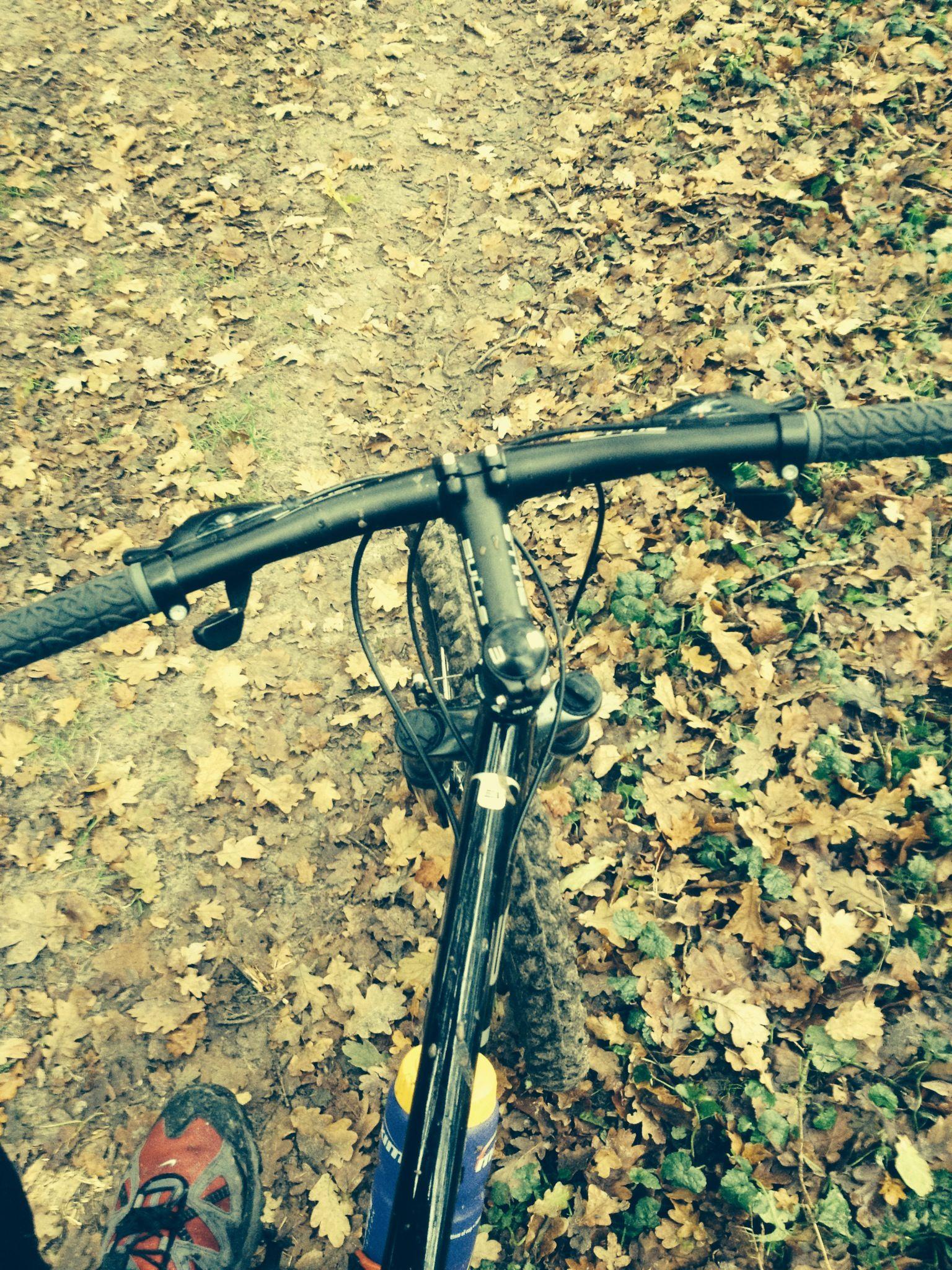 Mountainbiken in De Emmerdennen en het Valtherbos