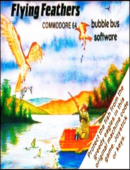 Flying Feathers c64 frontcover
