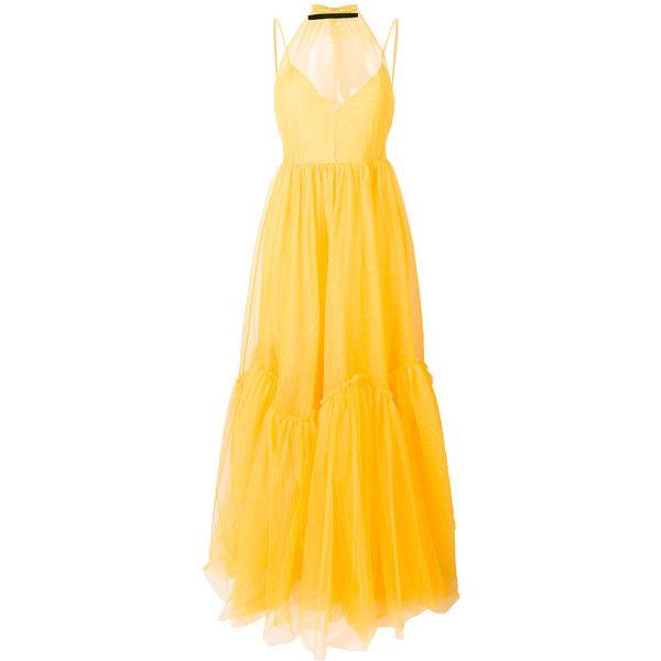 Nº21 sheer tulle evening dress High Quality Buy Online DBAerOnOE