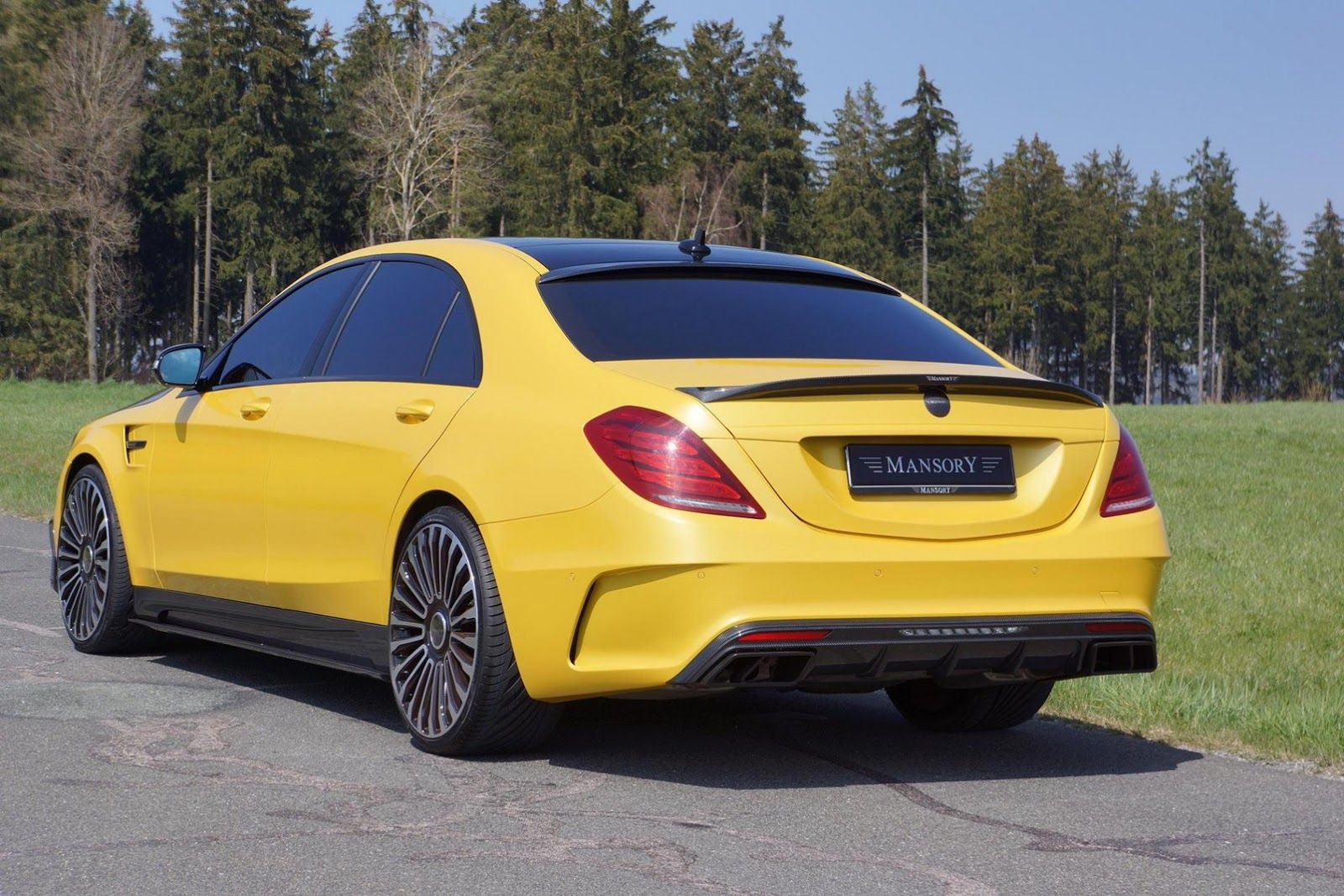 The Mansory Refinement Programme For The New Mercedes S Class Amg S63 Description From Germancarforum Com I Searched For Benz S Mercedes S Class Amg Mercedes