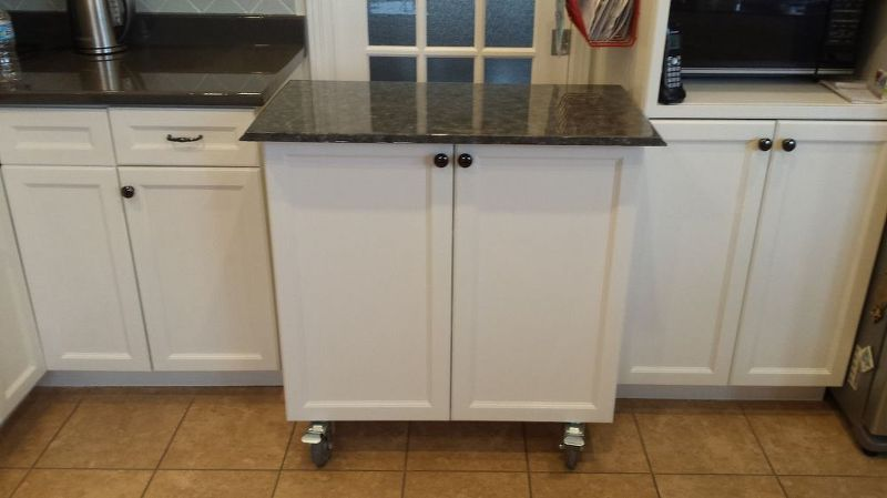 Rolling Kitchen Cabinets