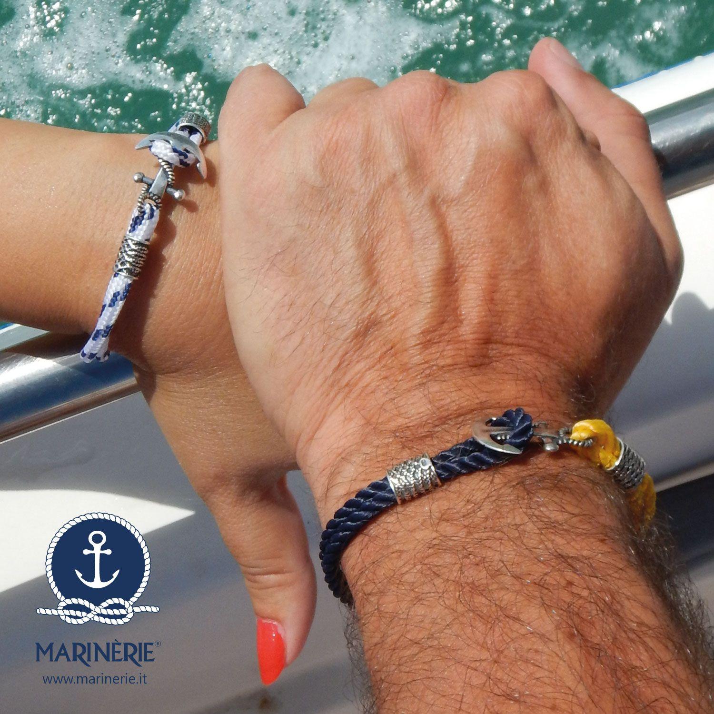 Il nostro sarà un legame indissolubile. Visita il sito www.marinerie.it e scegli il bracciale che preferisci con simboli in argento. Scegli tra l'ancora, rosa dei venti, bussola, salvagente e timone e personalizza il bracciale con cordini nautici del colore che preferisci.  #marinèrie #ancora #braccialeancora #braccialetimone #braccialerosadeiventi #stilenavy