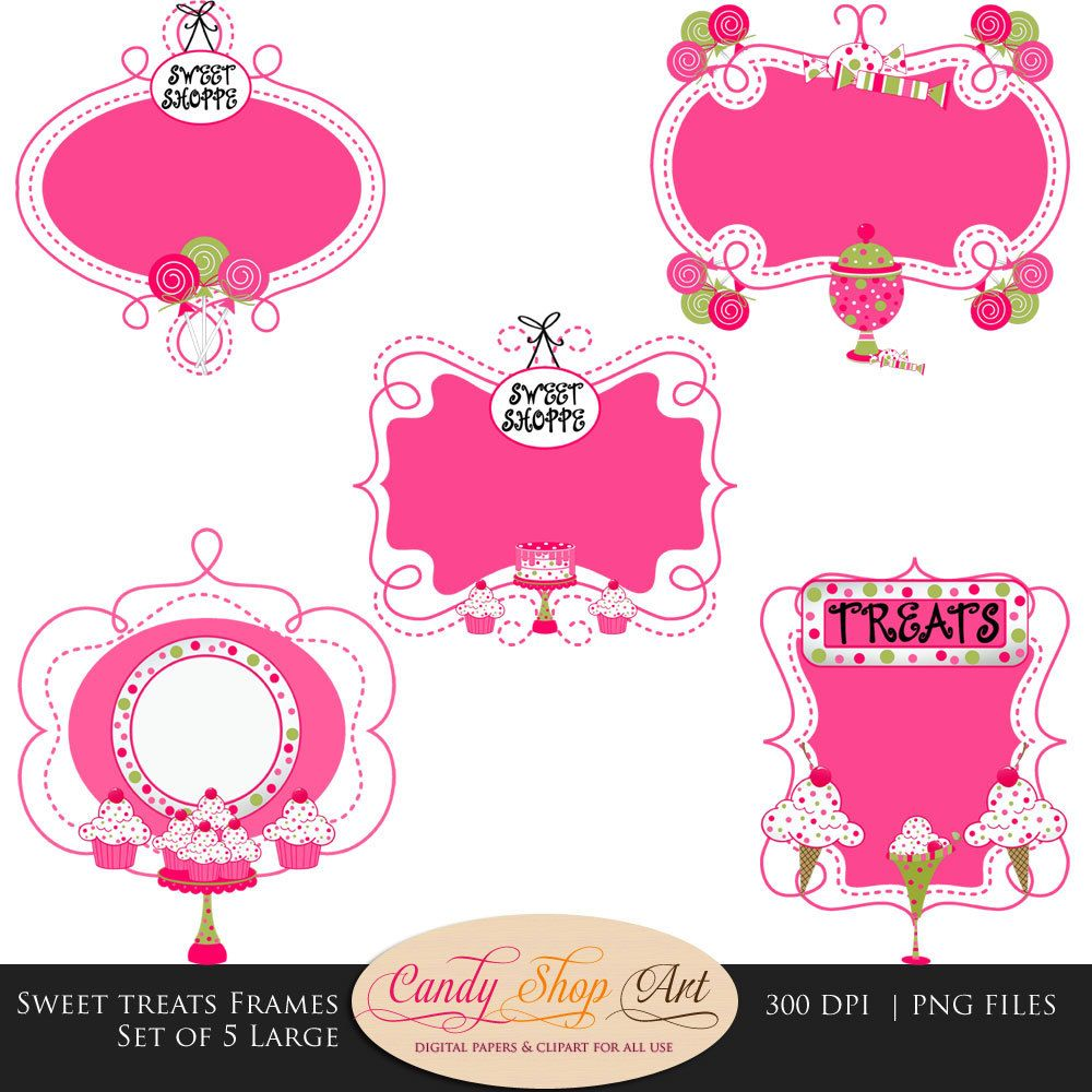 candy invitation template free