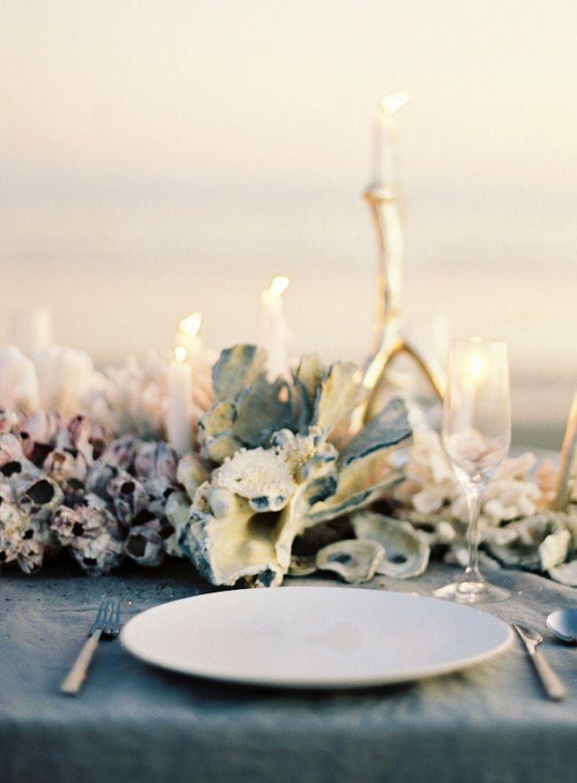 Relativo al mar tablescapes wedding and wedding bride relativo al mar beach wedding centerpiecescoral centerpiecesseaside junglespirit Gallery