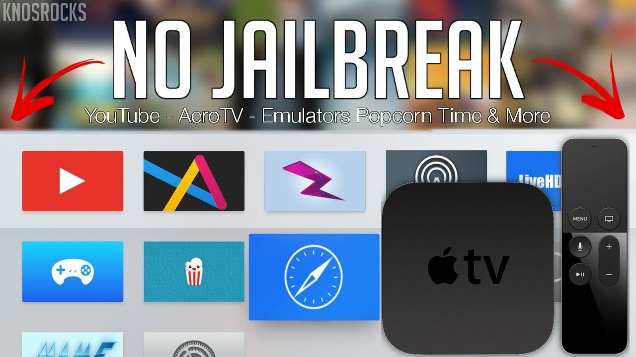 NEW! Install Kodi, Aero TV & Live Wire Free Apple TV 4 No Jailbreak