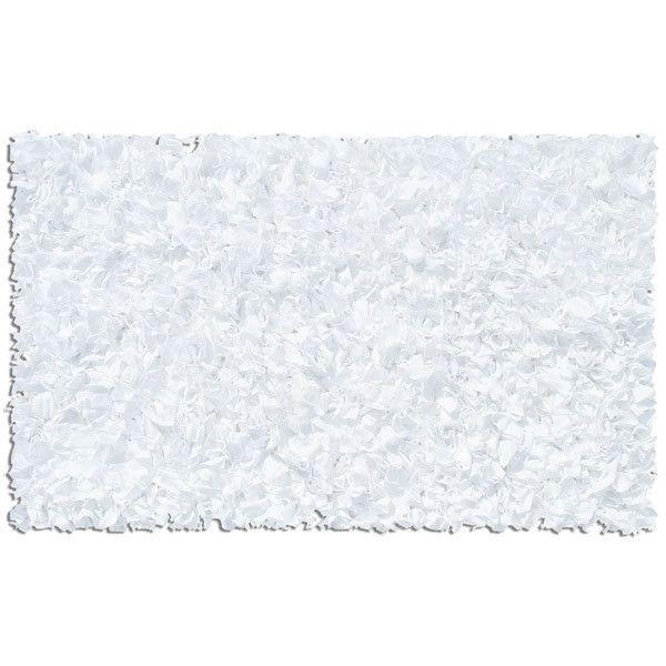 Shaggy Raggy Rug (White)