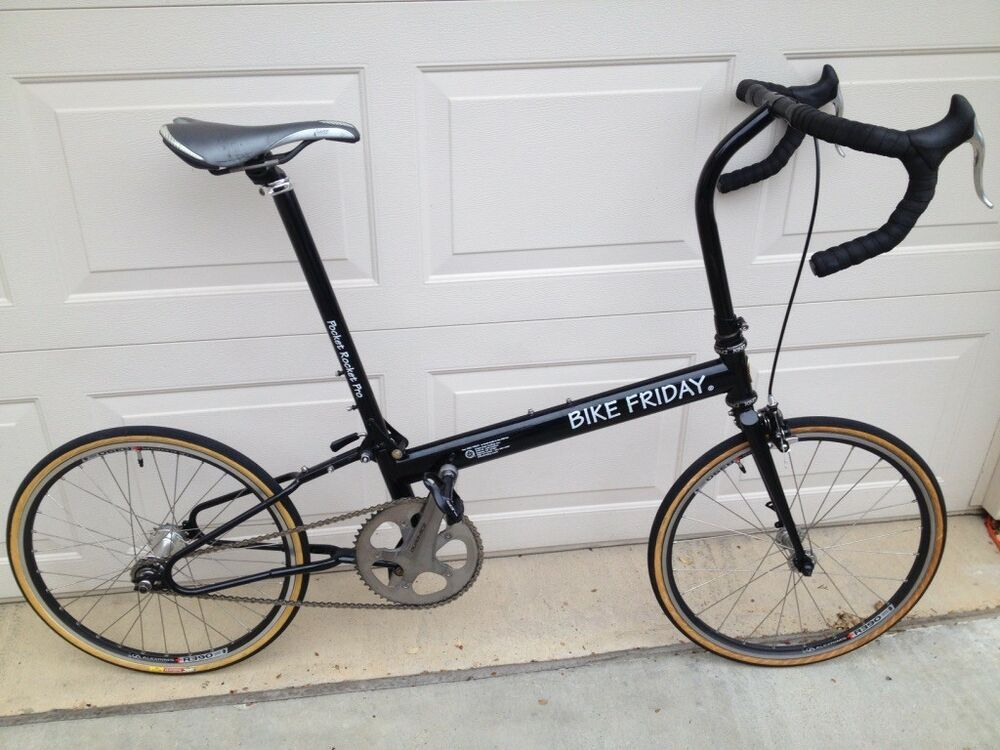 Custom Bike Friday Pocket Rocket Pro Large Frame Fixed Gear Bike