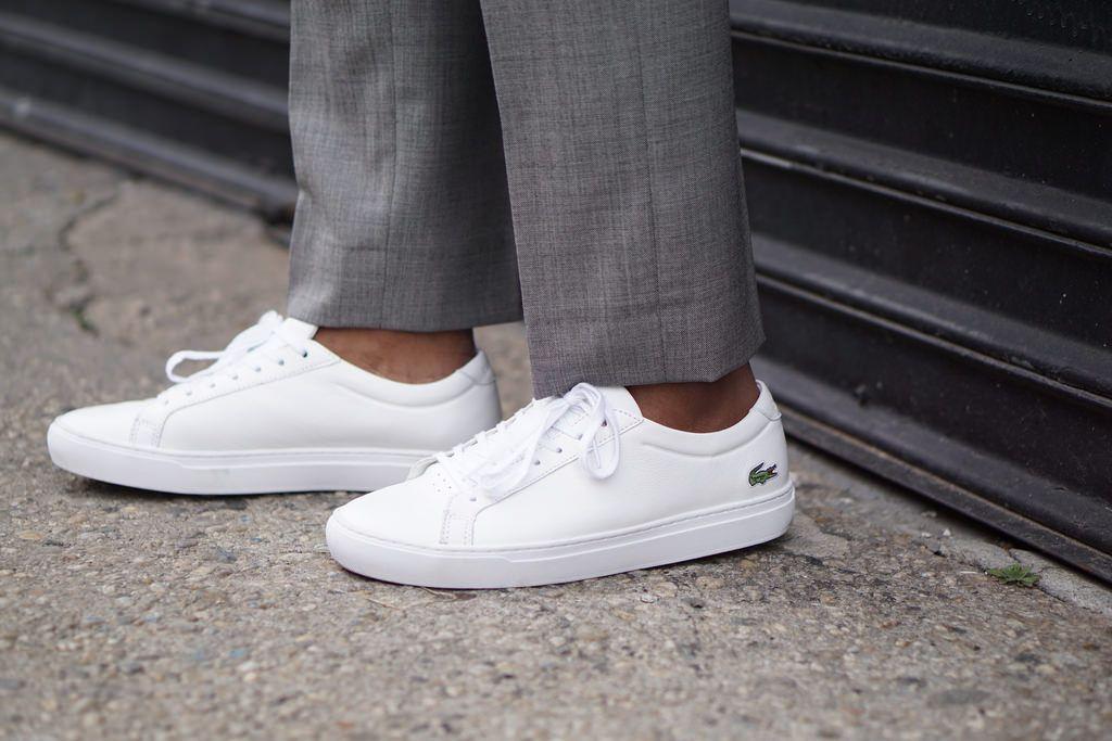 hurtownia online dostać nowe wyprzedaż ze zniżką How To: Business Casual Summer With White + Grey + Sneakers ...