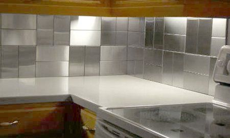 kitchen design tile pattern basket weave modern kitchen upgrade remodel stainless steel