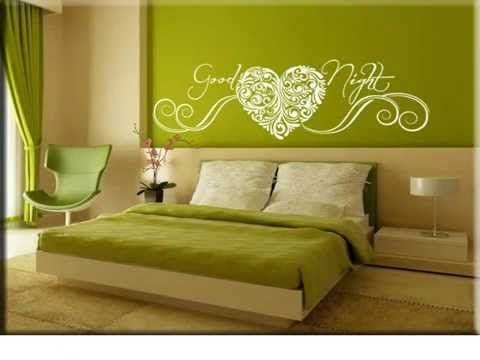 Adesivi murali per camera da letto, realizzati da Arredi Murali in ...