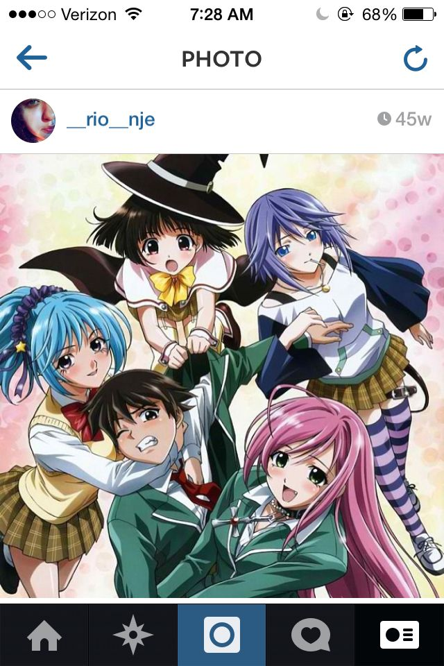 One if my first that I read book first Rosario vampire