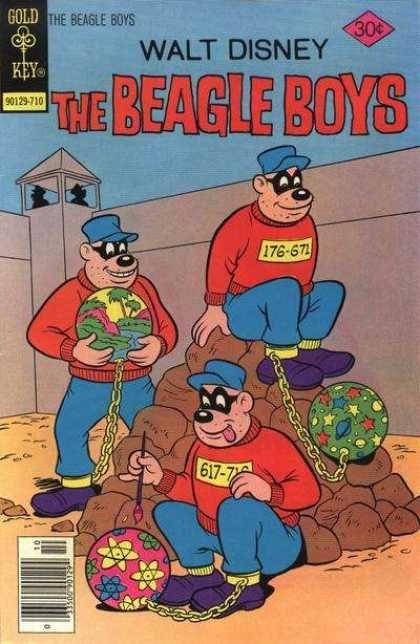Beagle Boys 38 Irmaos Desenho Animado