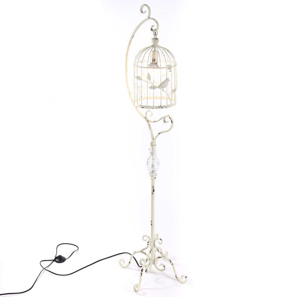 Metal Birdcage Floor Lamp   Cracker Barrel Old Country Store