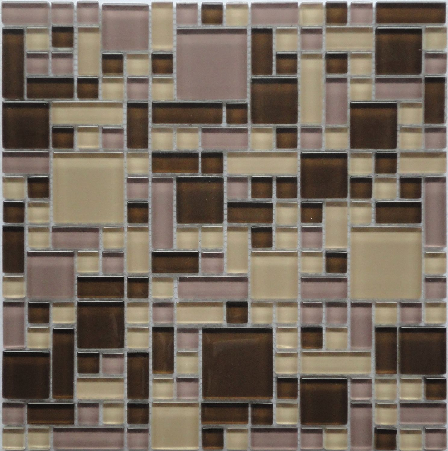 cassava root gp03 purple kitchen backsplash glass mosaic tile