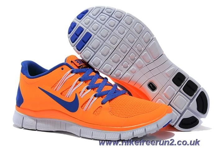 the best attitude b88ee c9dc4 Orange Blue Womens 580591-858 Nike Free 5.0 Outlet