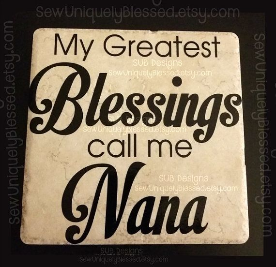 6 inch keepsake tile blessed blessings grandma grandchildren keepsake tile blessed blessings grandma grandchildren mothers mothers day gift idea easter nana mom mother father dad by subdesigns negle Image collections