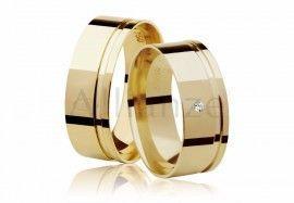 03854f5cf0a70 Aliança BELOVED PLUS em Ouro 18k com 8 gramas o par