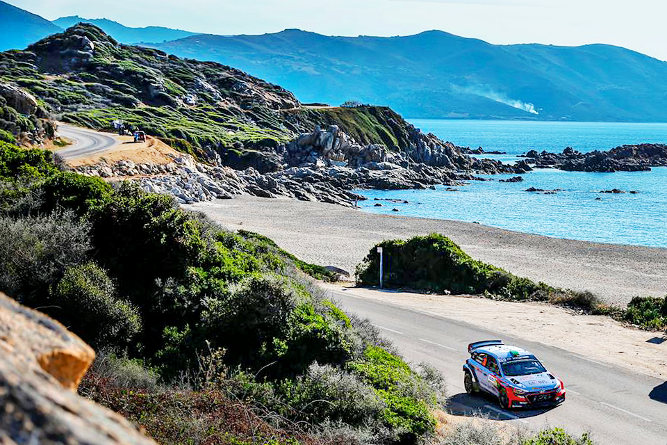 A three-day rally in Corsica began with the hardship and all passions - 아름다운 지중해 섬, 코르시카! 그곳에서 펼쳐진 3일간의 프랑스 랠리 - #oceanview #beautiful #coastalroad #bluesea #threedaylong #Corsica #onthefirstday #run #race #carwithoutlimits #i20WRC #France #Rally #motorsport #WRC #Hyundai