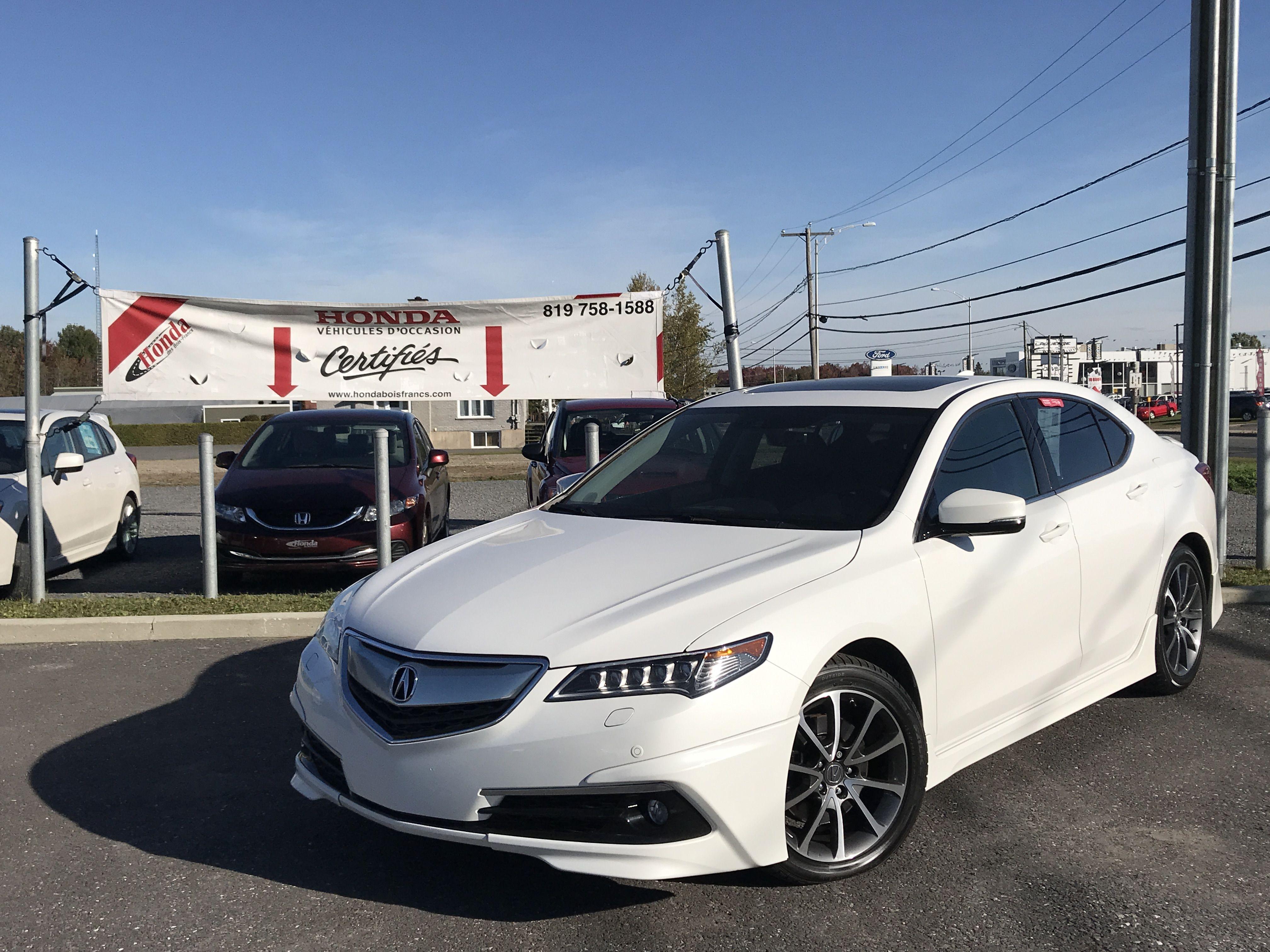 Acura Tlx 2015 Blanc White Acura Acura Tlx Acura Tl Acura