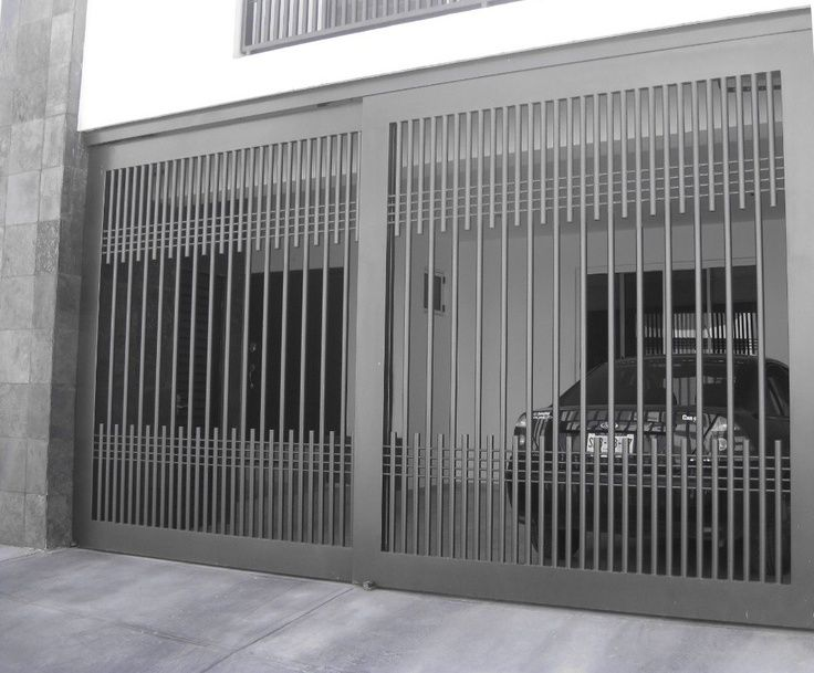 Antejardines de casas modernas en forja buscar con for Fachadas de garajes modernos
