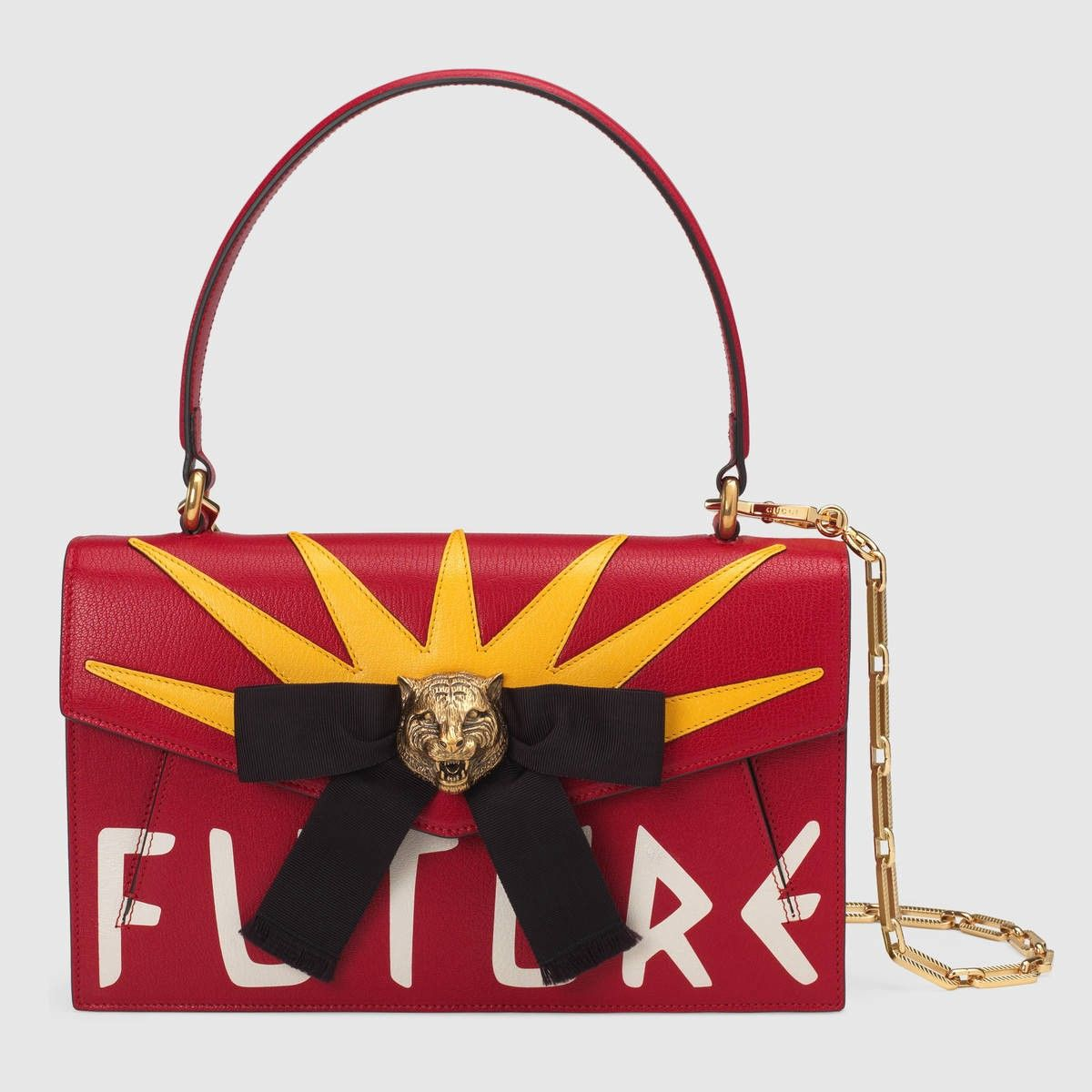 GUCCI Osiride leather top handle bag - red leather.  gucci  bags  shoulder 476b45886e04