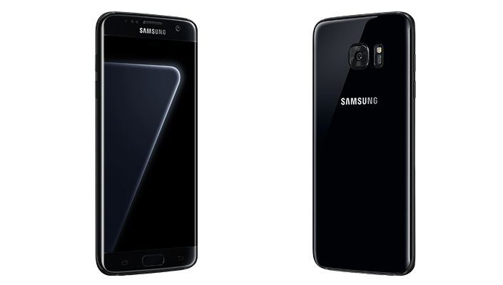Samsung Officially Unveils The Black Pearl Galaxy S7 Edge Jet Black Iphone Samsung Galaxy S7 Edge Samsung Galaxy