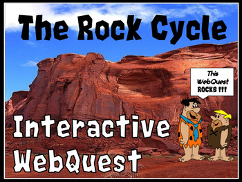 Rock Cycle WebQuest with Types of Rocks | Rock types, Webquest