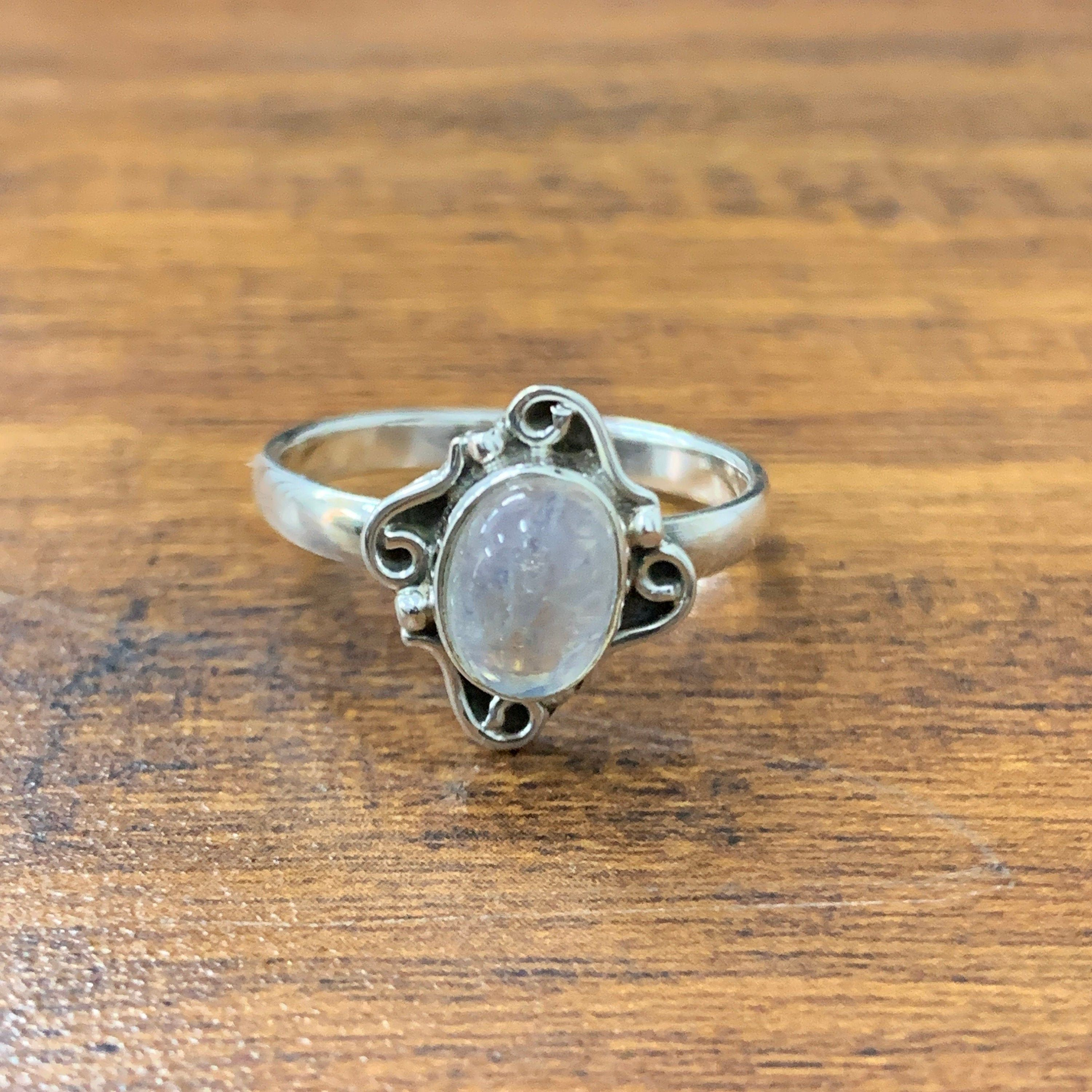 Natural Diamond Ring Solid 925 Sterling Silver Handmade Victorian Women Jewelry