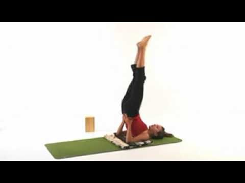 yoga pose guide for shoulder stand  youtube very good