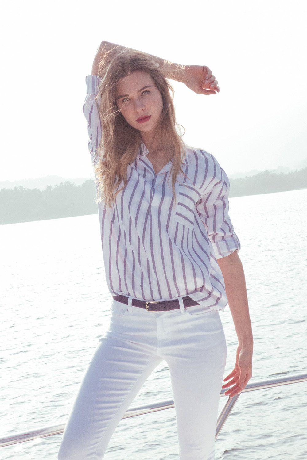 bluse anky – colloseum | gestreifte bluse, models, bluse