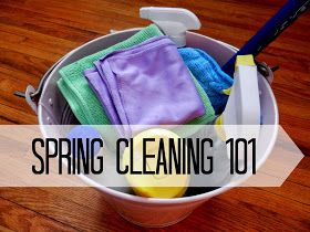 Organizing Life with Less: Spring Cleaning 101: The Basics