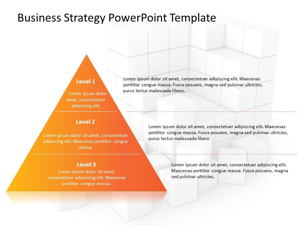 Business Strategy PowerPoint Template 20 Powerpoint