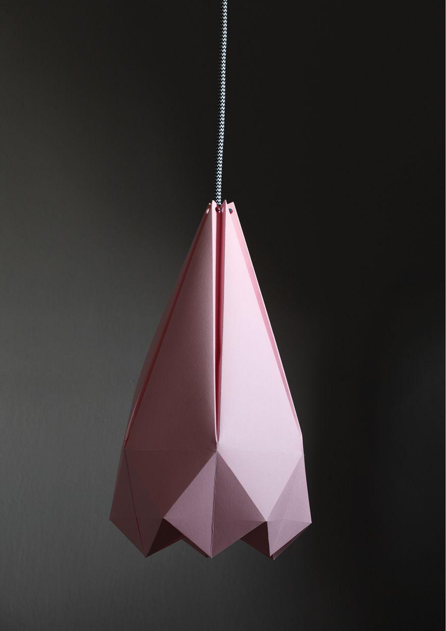 Diy Paper Lamp With Free Template Lys Diy Lampe Lampeskaerm